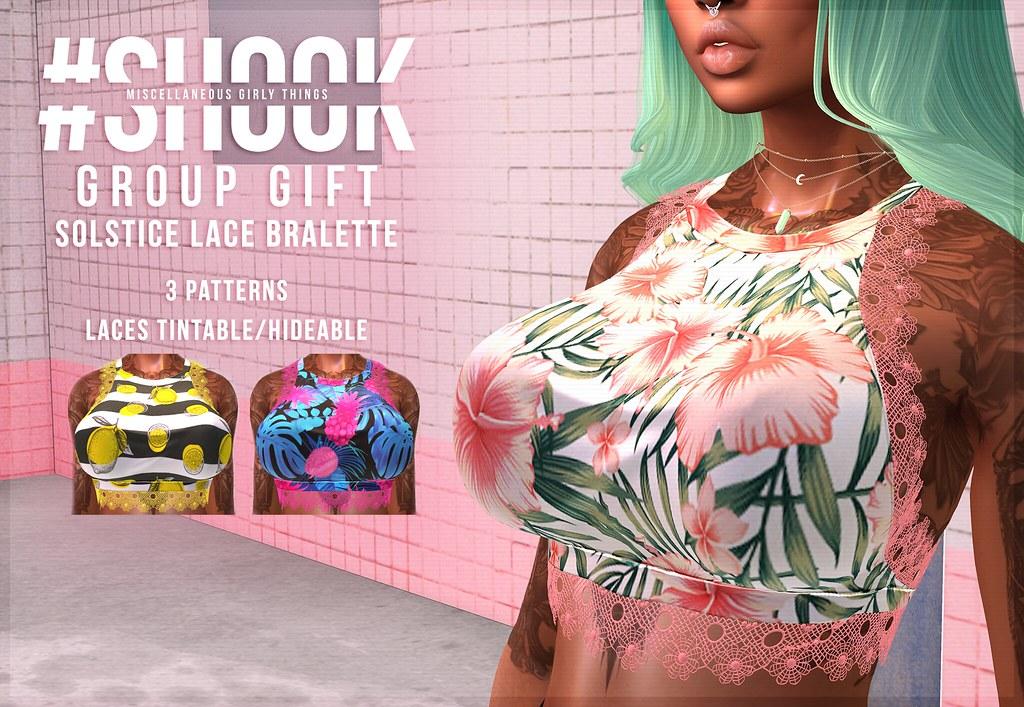 #SHOOK - GROUP GIFT Solstice Bralette - TeleportHub.com Live!