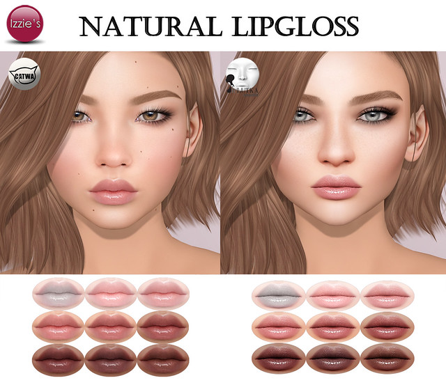 Natural Lipgloss for Lookbook