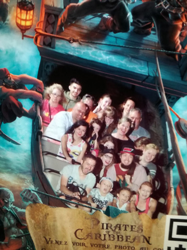 Pirates of the Caribbean on ride photo