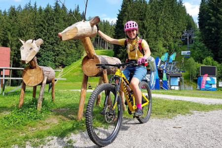 Bike SNOW tour: Bílá – ráj dětí i bikerů