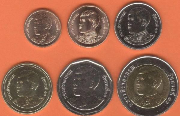 Thajsko sada mincí 2018 UNC