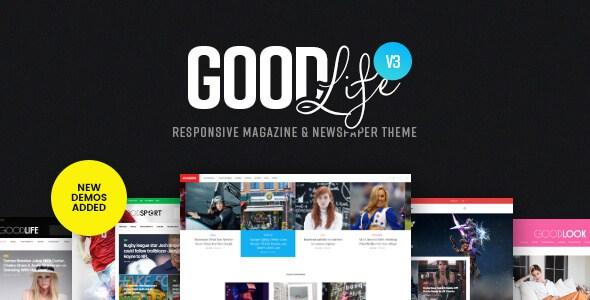 WordPress Theme GoodLife v3.2.8 Cập Nhật Phiên Bản