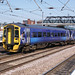 syks - northern ex scotrail 158871 departs doncaster 04-7-18 JL