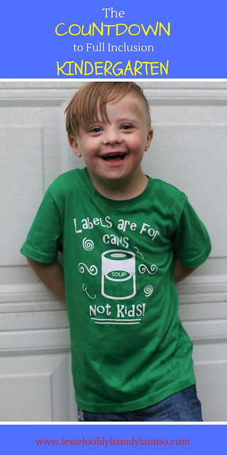 Full Inclusion Kindergarten my child who has Down syndrome #specialneeds #kindergarten #inclusion #Downsyndrome