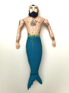 Tattooed Merman