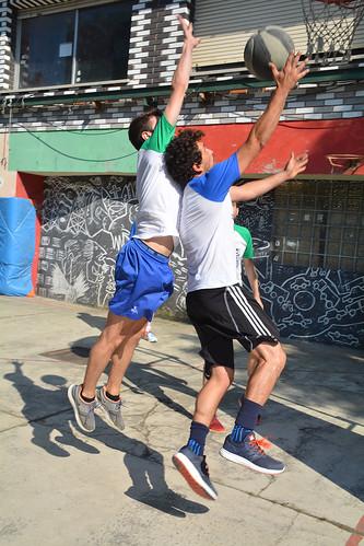 3x3 Street Basket txapelketa Gaztetxean