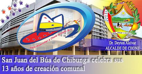 San Juan del Búa de Chibunga celebra sus 13 años de creación comunal