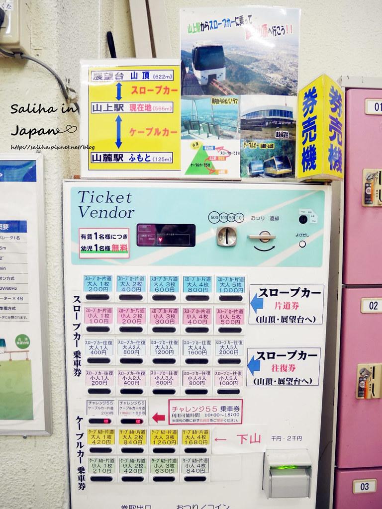 皿倉山夜景纜車 (21)