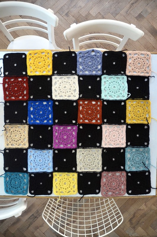 woodwoolstool baby blanket pattern
