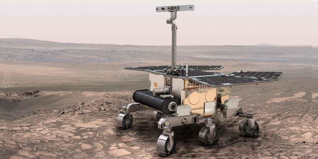 Le rover ExoMars devrait être lancé en juillet 2020