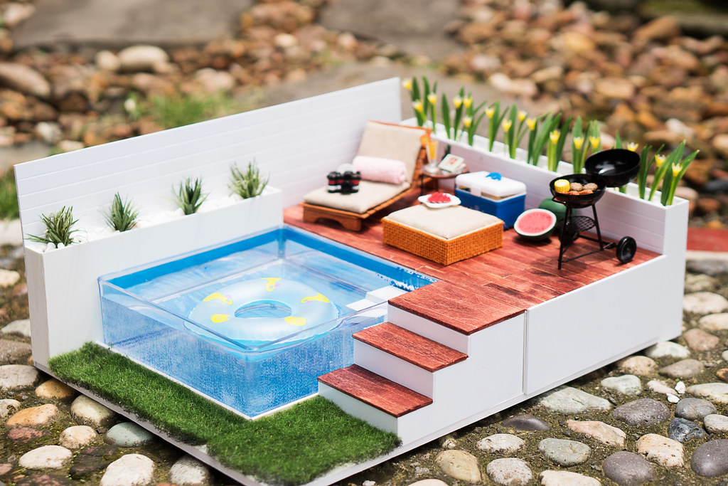 DIY Swimming Pool Set