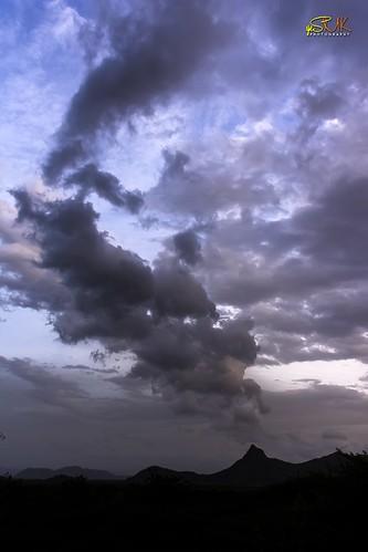 sunset theni munnar road clouds sky yesmkphotography muthukumar d7200 nikon bodinayakkanur nh49 western ghats westernghats