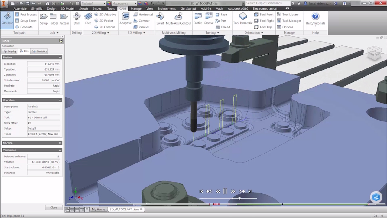Download Autodesk Inventor HSM Ultimate 2019.0.2 x64 full license