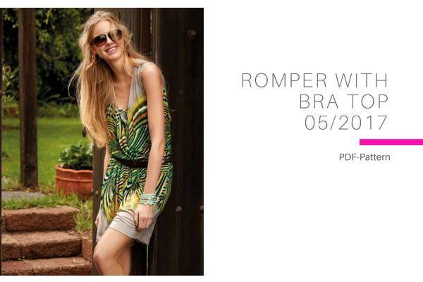 Romber with Bra Top