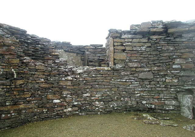 Interior Wall, Broch of Gurness, Orkney