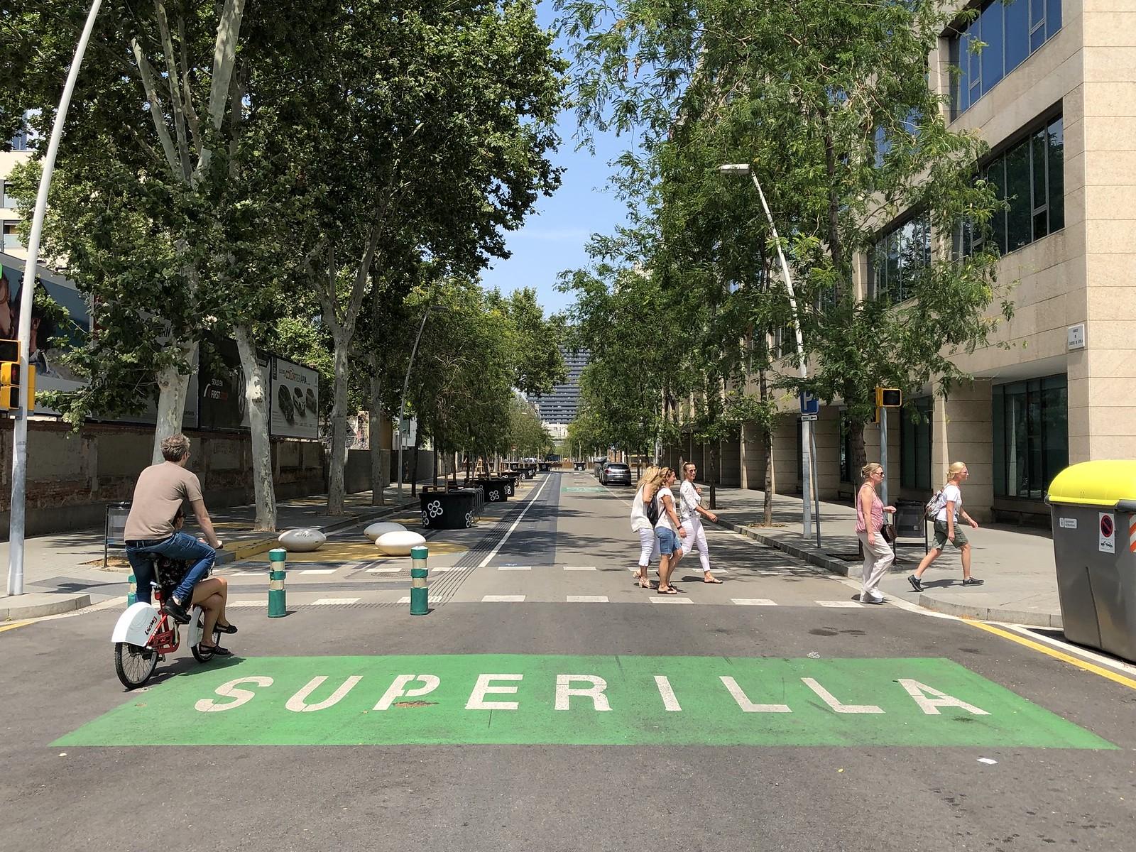 Суперкварталы Барселоны – улицы вернули пешеходам!