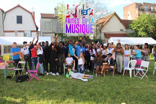 Action Sociale - Fête de la Musique Paris