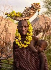 Mursi Mother and Child