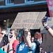 Cardboard slogans