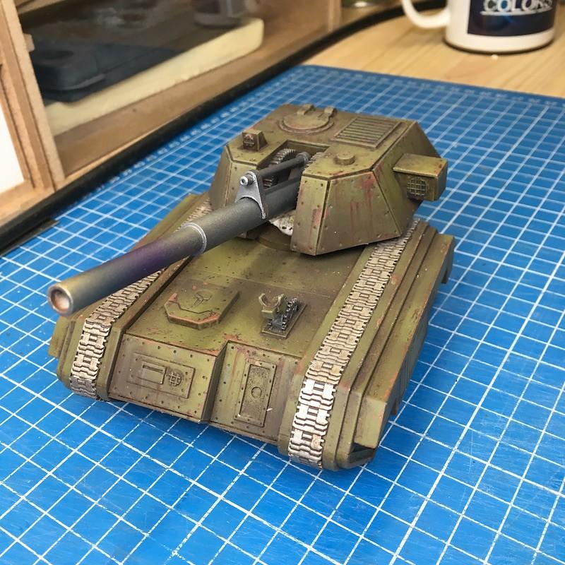 Lasercut basilisk tank green-17