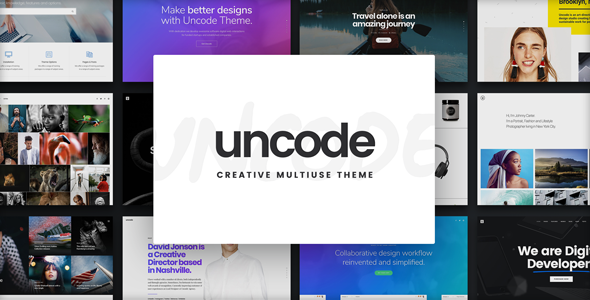 Uncode v2.1.0 - Creative Multiuse WordPress Theme