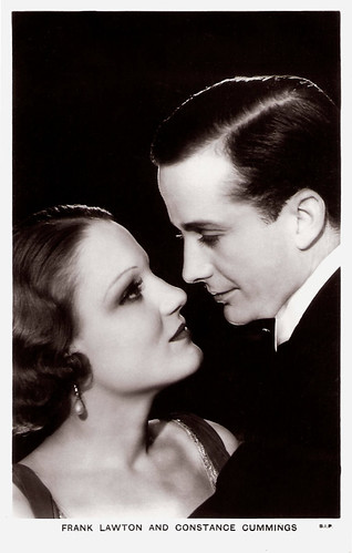 Frank Lawton and Constance Cummings  in Heads We Go (1933)