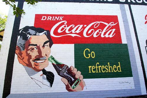 Drink Coca-Cola - Go refreshed.