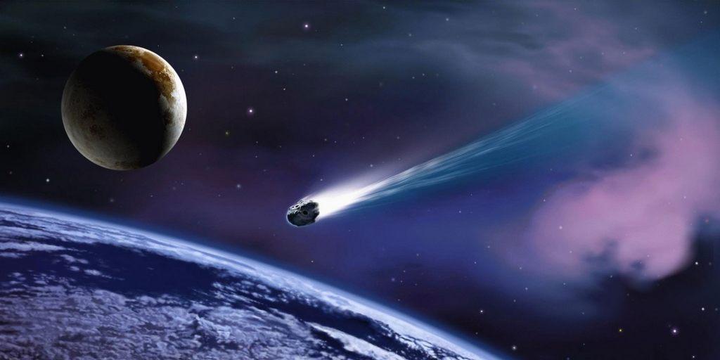 Une énorme météorite a touché l'océan