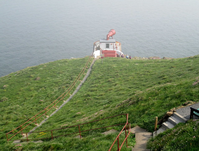Foghorn from path