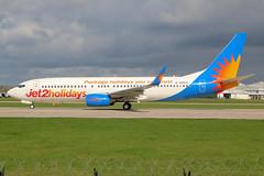 Jet2 Boeing 737-800 G-GDFU
