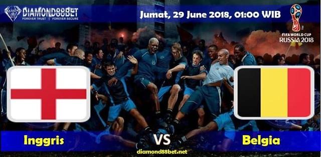 Prediksi Bola Inggris vs Belgia , Hari Jumat 29 June 2018 – Piala Dunia