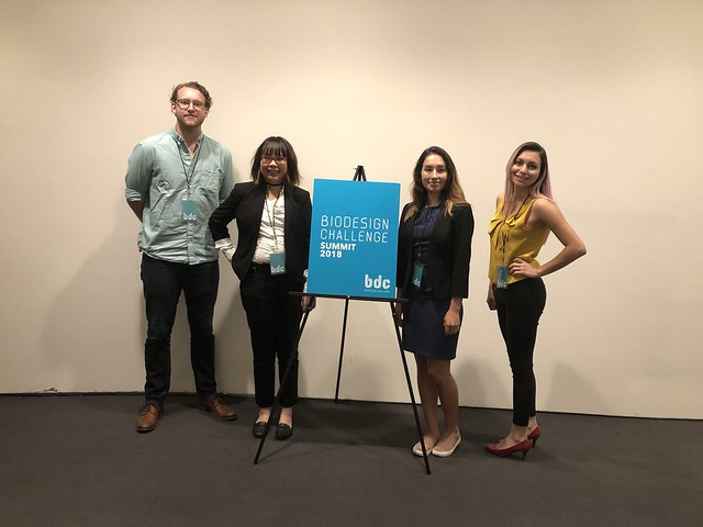 Biodesign Challenge in NYC 2018