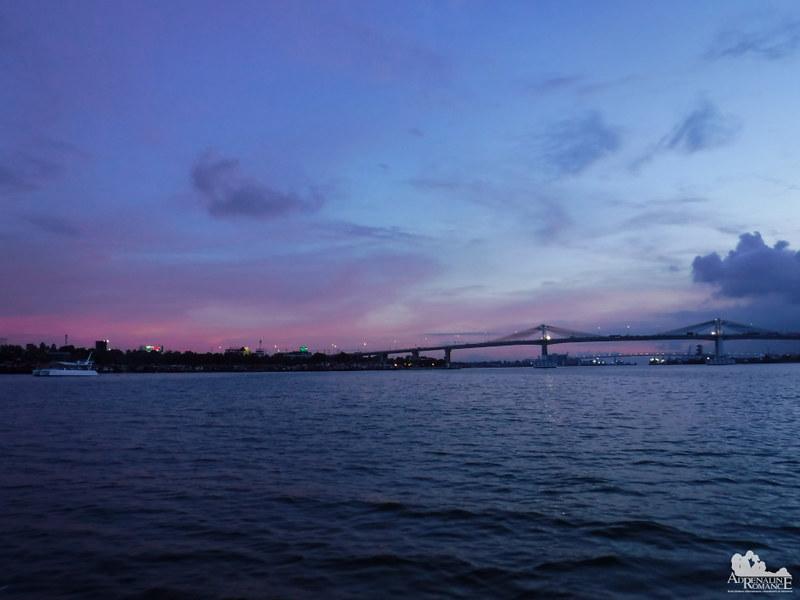 Mactan Channel sunset