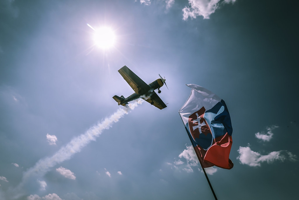 AMBIANCE AIRSHOW during the 2018 FIA WTCR World Touring Car cup race of Slovakia at Slovakia Ring, from july 13 to 15 - Photo Jean Michel Le Meur / DPPI