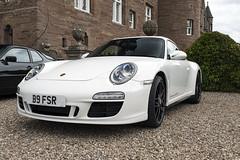 C4 GTS White
