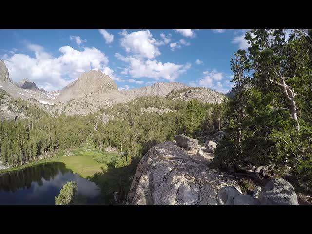 1762 GoPro panorama video of Fourth Lake