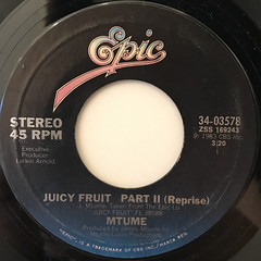 MTUME:JUICY FRUIT(LABEL SIDE-B)