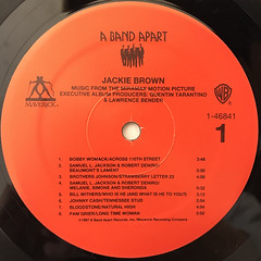 V.A.:JACKIE BROWN(LABEL SIDE-A)