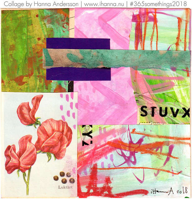 Sweet Pea - Collage no 136 by iHanna