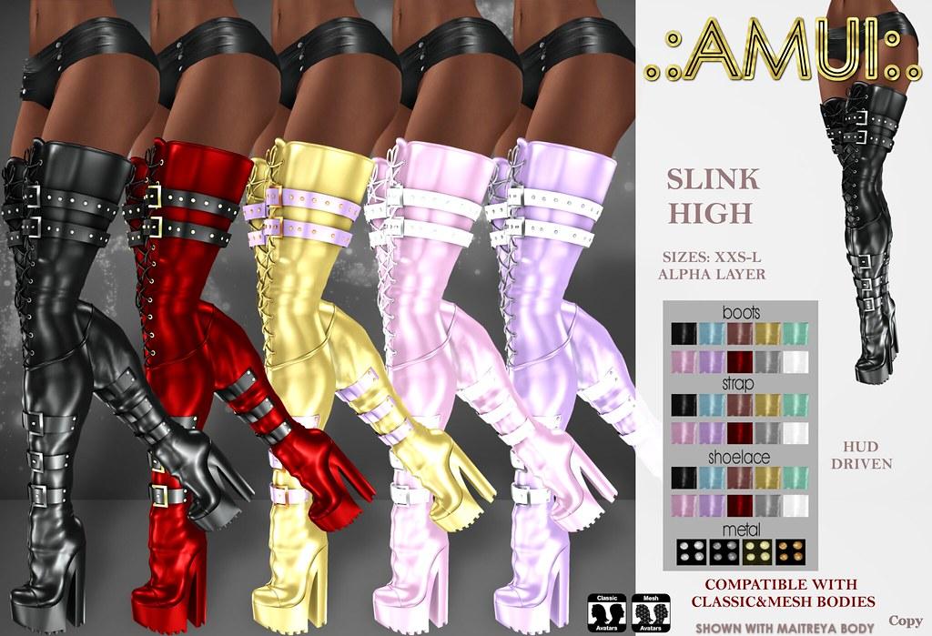 ".:AMUI:. ""Cyber"" Boots"