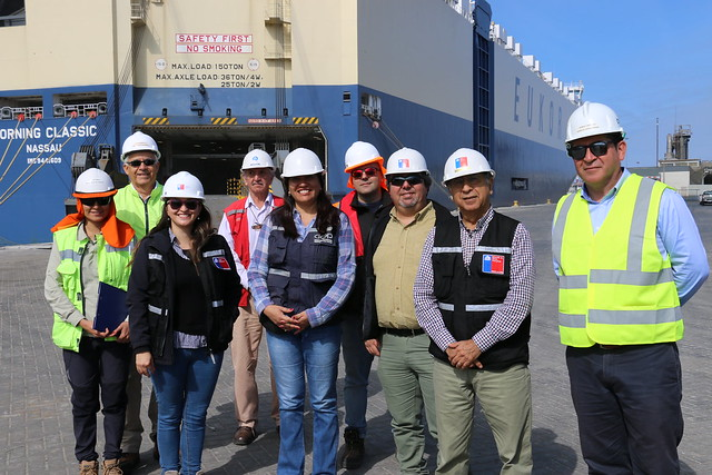 DOP visita obras de reconstrucción del Puerto de Iquique