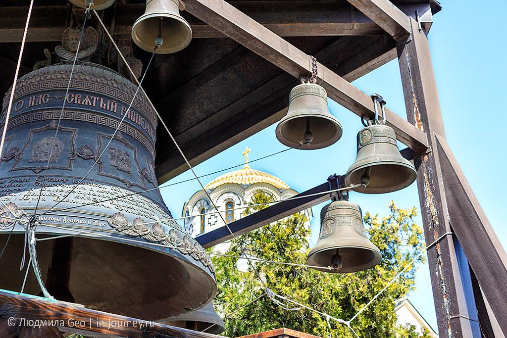 Звонница у собора Святого Владимира в Херсонесе