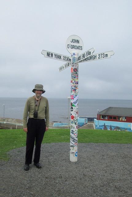 Signpost, John  O' Groats