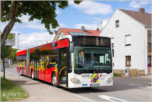 Stadtbus Ingolstadt Citaro 1407