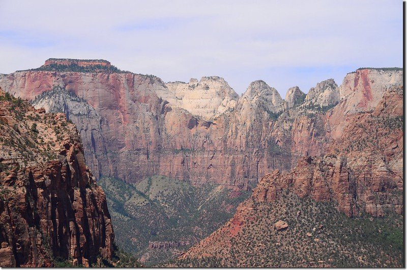 View to west from Canyon Overlook, Zion (3)