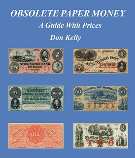 Kelly Obsolete Paper Money Guide with Prices book cover
