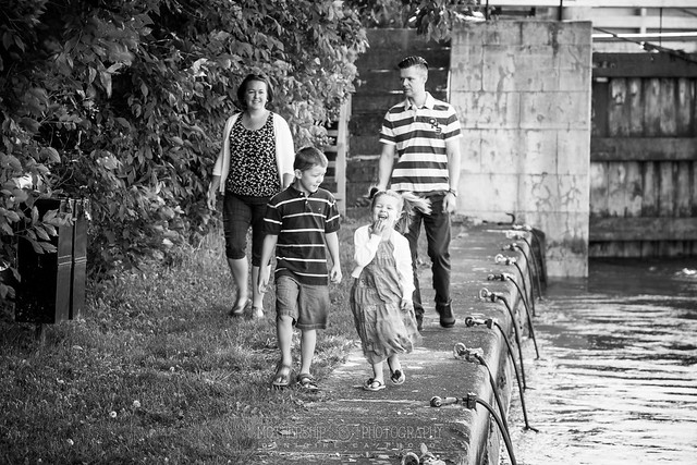 Family fun at the locks