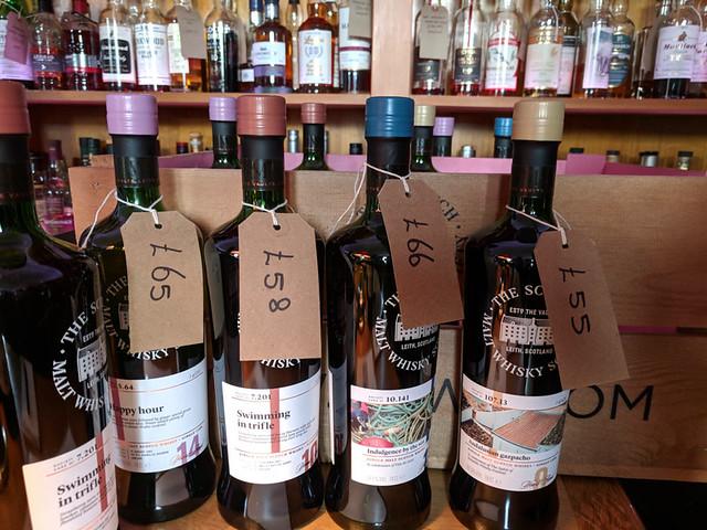 Malt Whisky Society free tasting