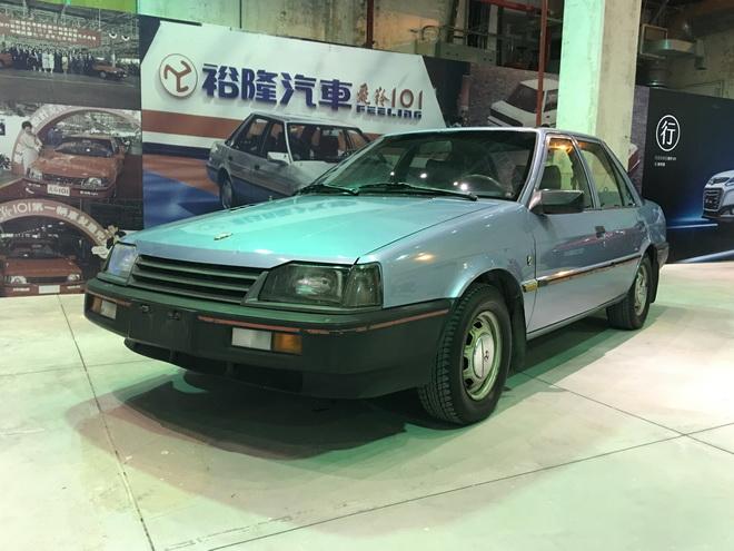1986年上市的飛羚101成為展覽一大亮點