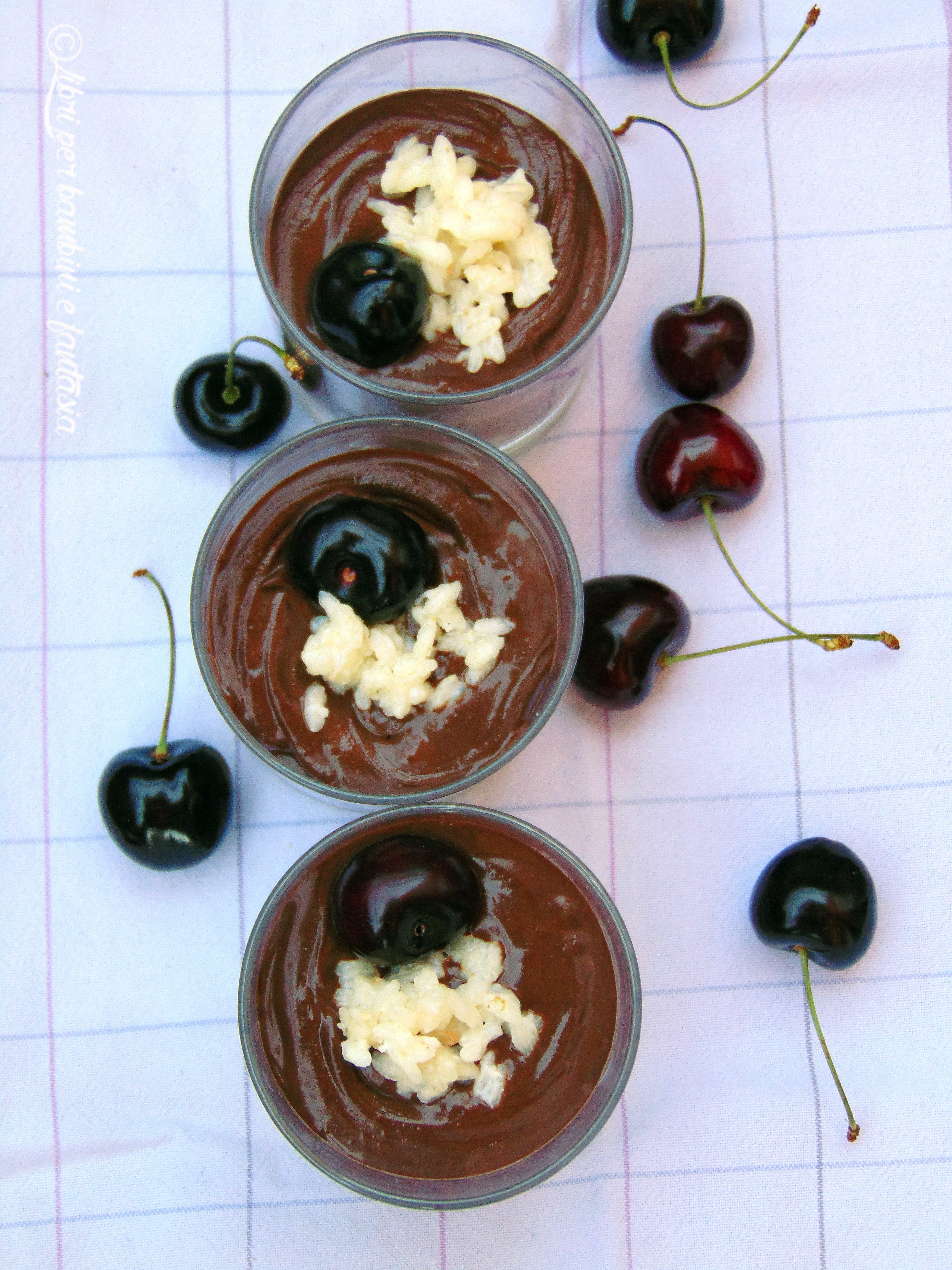 mousse al cioccolato e risolatte6
